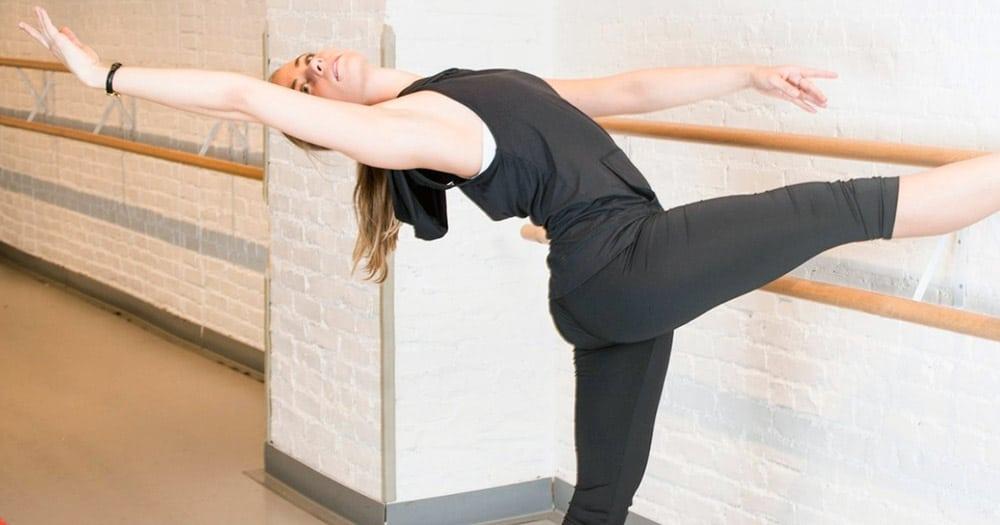 Classical dancer pose